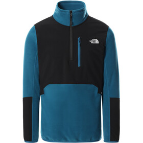 The North Face Glacier Pro 1/4 Zip Jacke Herren moroccan blue/TNF black